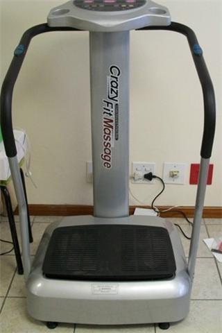 הוראות חדשות Crazy Fit Machine | Power vibration plate | Crazy fit massagers NF-22